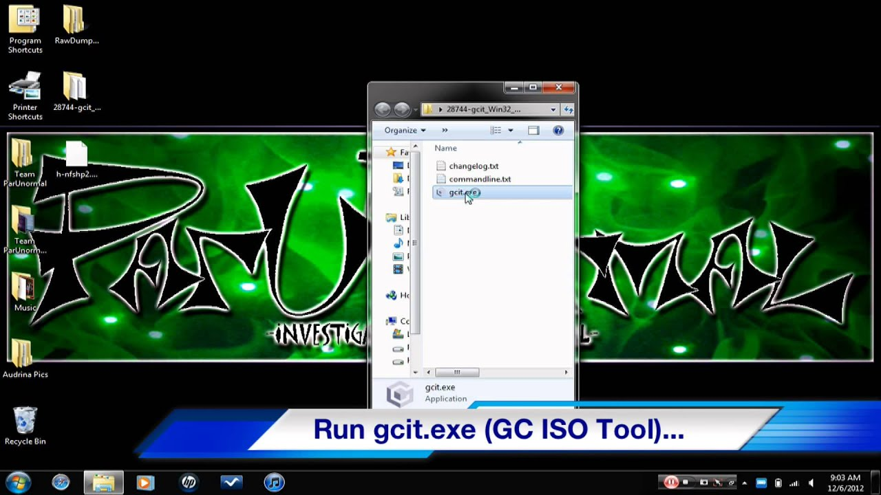 [HOW TO]- Convert  GCM back to  ISO using GameCube ISO Tool- Plus Link!