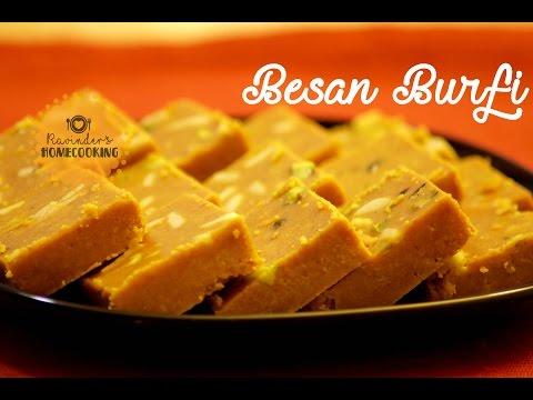 how to make besan ki barfi in hindi video
