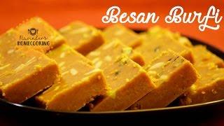 Besan Burfi - Mother's Day Special || दस मिनट्स में बनाये बेसन की बर्फी
