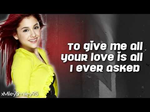 Ariana Grande - Grenade (with lyrics)