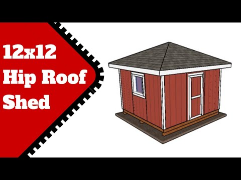 3 Cord Firewood Shed Plans Free Youtube