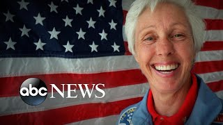 Wally Funk overcame decades of sexism to become oldest astronaut