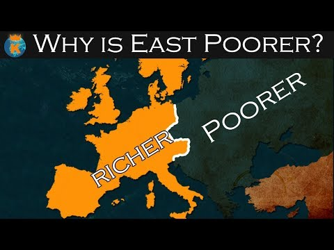 Why is Eastern Europe Poorer than Western Europe?