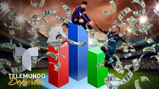 ¡Vale oro! Lionel Messi es más millonario que ¿Cristiano Ronaldo? | Telemundo Deporte