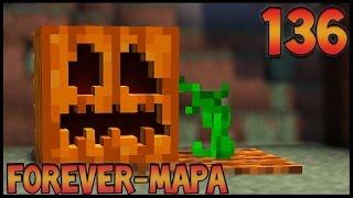 FAZENDA DE ABÓBORA AUTOMÁTICA!! - Forever Mapa #136 - Minecraft 1.8