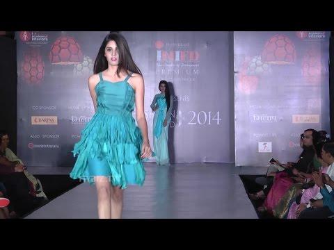 INIFD Conducts Fashion Show At Green Park Marigold Hyderabad-Hybiz.tv