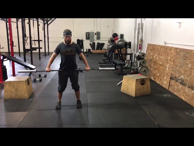 BB Wide Grip Bent-Over High Row