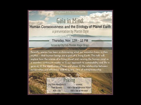 Gaia in Mind: Consciousness and the Ecology of the Planet Earth