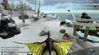 Quetzal Revival Trap Tame Method! | ARK Survival Evolved Mobile