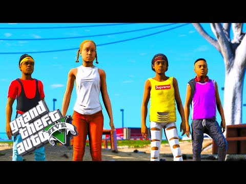BAD KIDS ON THE BLOCK 4 (GTA 5 SKIT)