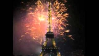Feu artifice Tour Eiffel 2000 - Eiffel Tower Millenium Firework