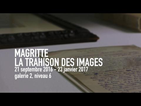 René Magritte, La trahison des images   Exposition   Centre Pompidou