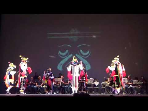 Danza de los Negritos de Oaxaca en el Centro Cultural Mexiquense Bicentenario