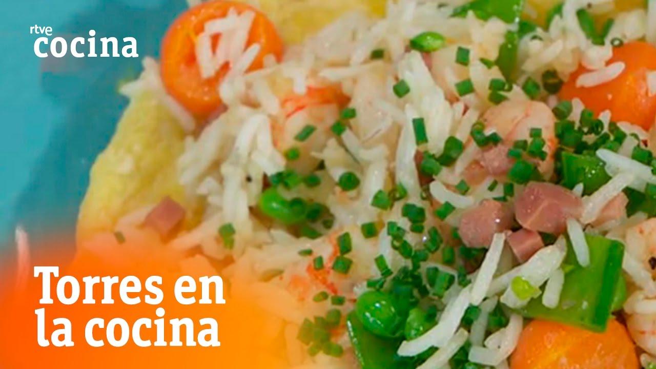 Arroz mil delicias torres en la cocina rtve cocina for Torres en la cocina youtube