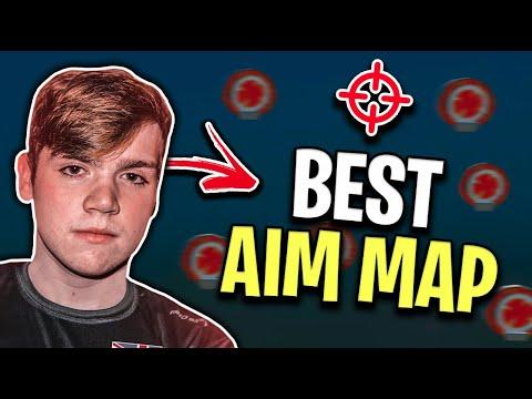 Best Aim Maps Fortnite How Mongraal Trains His God Like Aim In Fortnite New Aim Training Map Youtube