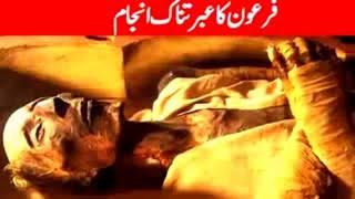 Firon Ka Ibratnak Anjam  Islamic History Videos   Firon Ki Kahani  Story    Fi