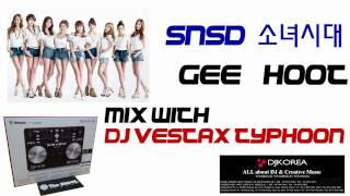 소녀시대 SNSD Mix Made with DJ Vestax Typhoon