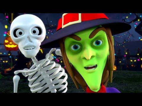 Hello its Halloween   Kids Halloween Music & Spooky Nursery Rhymes   Little Treehouse
