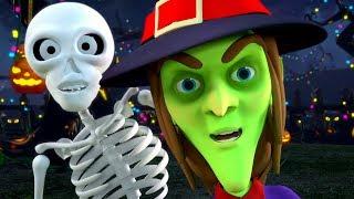 Hello its Halloween | Kids Halloween Music & Spooky Nursery Rhymes | Little Treehouse
