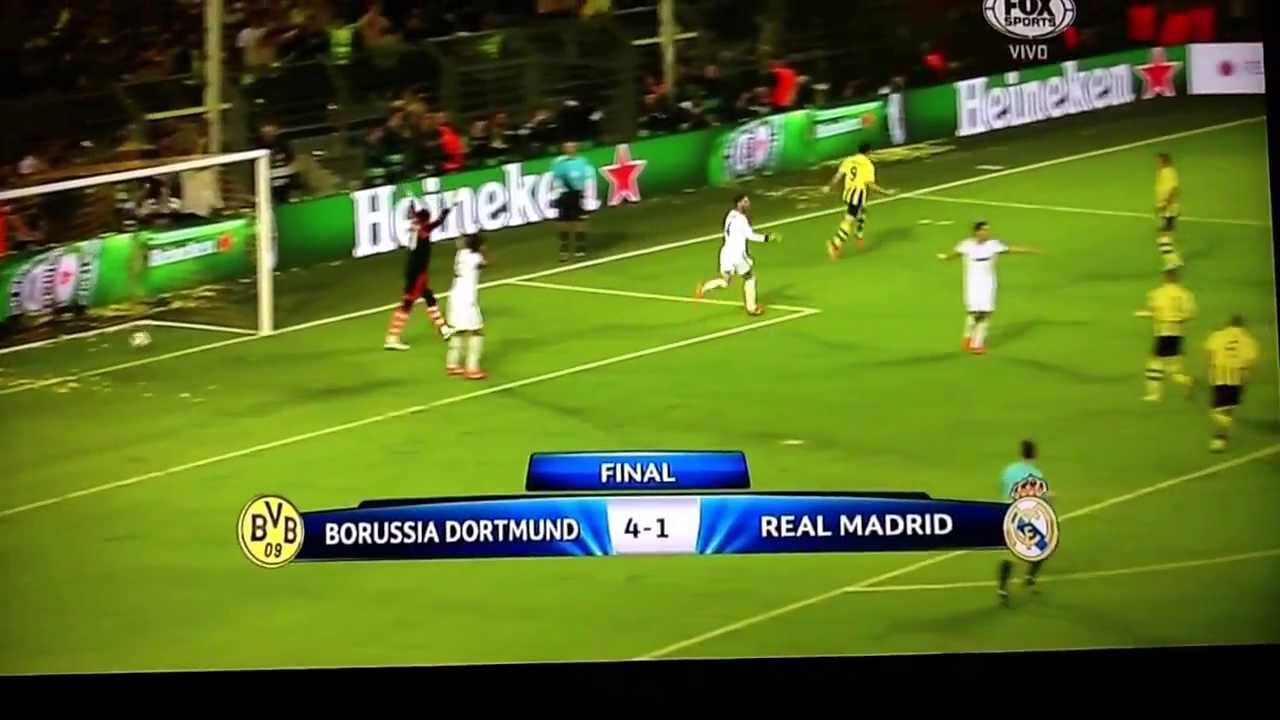 Dortmund Real Madrid 4 1