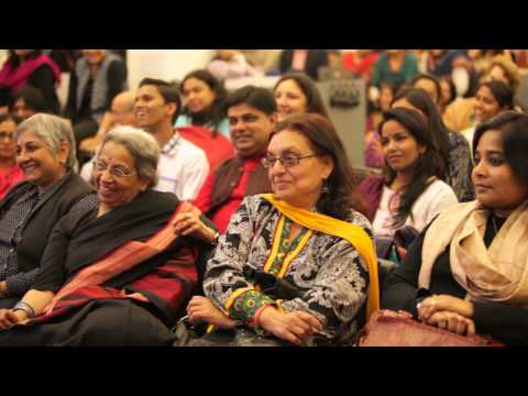 Fahmida Riaz at IAWRT Seminar 'Hum Gunahgaar Auratein' on March 8