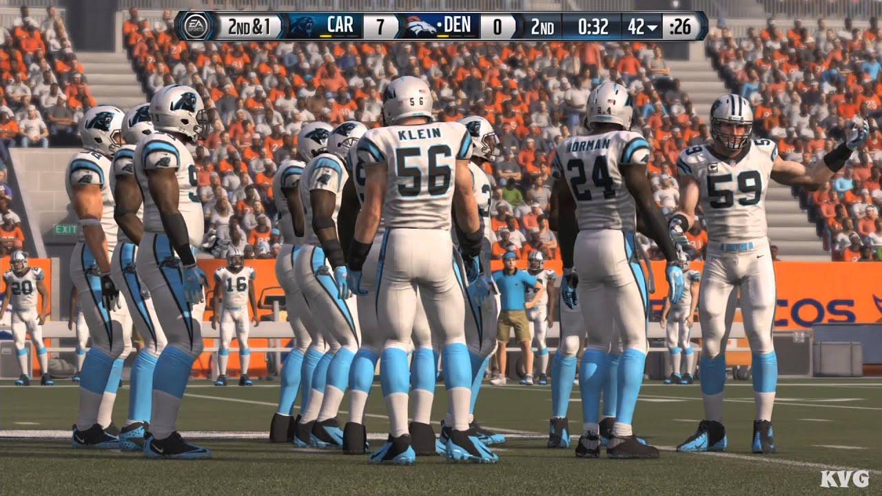 63f0ac6c Madden NFL 16 - Super Bowl 50 - Carolina Panthers vs Denver Broncos  Gameplay (XboxONE HD) [1080p]