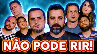 NÃO PODE RIR! com OMELETE (Érico Borgo, Aline Diniz, Luciano Amaral e Bruno Silva) e Wendel Bezerra