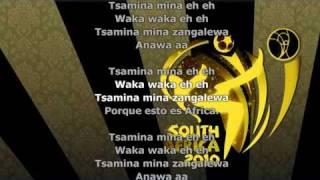 SHAKIRA - WAKA WAKA (ESTO ES ÁFRICA) // LYRICS