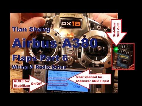 Tian Sheng - Airbus A380 - Flaps Part 6 - Wiring & Radio Setup