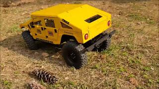 3D printed RC car body - Hummer H1