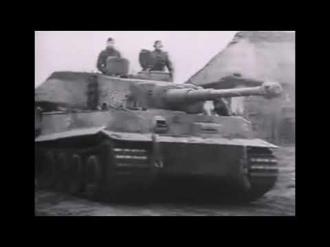 Танк Королевский Тигр - мощь и гордость Германии. Немецкий документальный фильм.