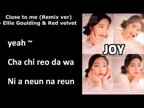 [Easy Lyrics] Close To Me (Remix Ver) -  Ellie Goulding & Red Velvet