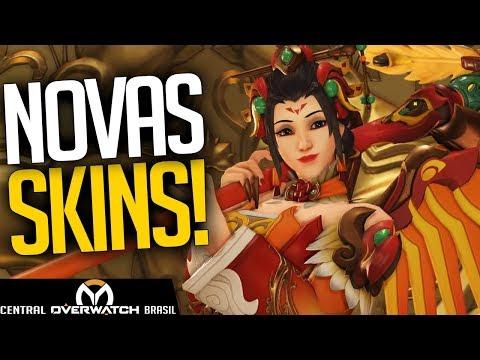 OVERWATCH - NOVAS SKINS EVENTO ANO DO CACHORRO! - Central Overwatch Brasil