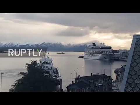 Norway: Cruise vessel arrives in port following rescue op