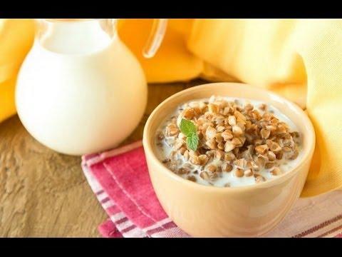 Диета гречка  с  кефиром рецепт | Гречневая диета для похудения | #диетадляпохудения #edblack
