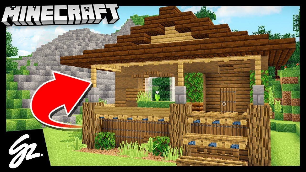 Building a cabin house minecraft let 39 s play youtube - When building a house ...