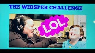 THE WHISPER CHALLENGE I FT. COOPER