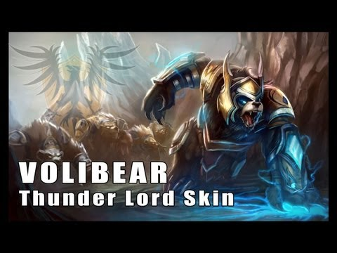 League of Legends: Thunder Lord Volibear Skin Artwork