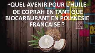 Coprah biocarburant