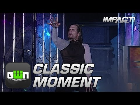 Jeff Hardy Debuts in the Asylum To Challenge AJ Styles (NWA-TNA PPV #100) | Classic IMPACT Moments