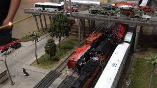 Train Crashes, Juice Train, and More! - HO Scale Model Railroading 12/2017