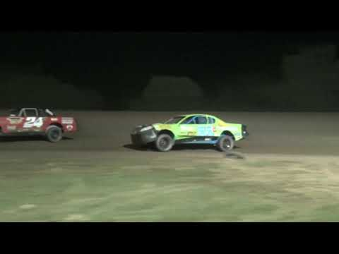 "Salina Speedway ""Coors Light"" IMCA Stock Cars *Mid America Clash 7* A Feature 9-27-19"