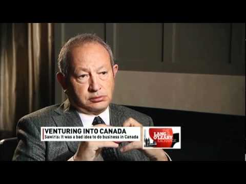 Wind Mobile's Naguib Sawiris Slams Canadian Duopoly & Government