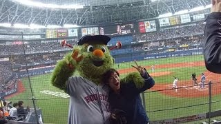 Up close with Astros' Orbit during Japan Series