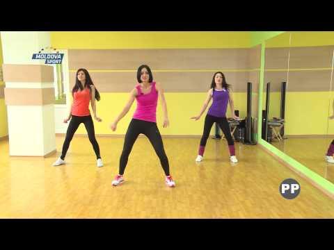 Club Dance-FITMIX.Lidia Vinogradova.Moldova Sport Tv.Target Fitness