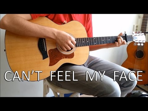 The Weeknd   Can39t Feel My Face Fingerstyle Guitar Cover by Guus Music
