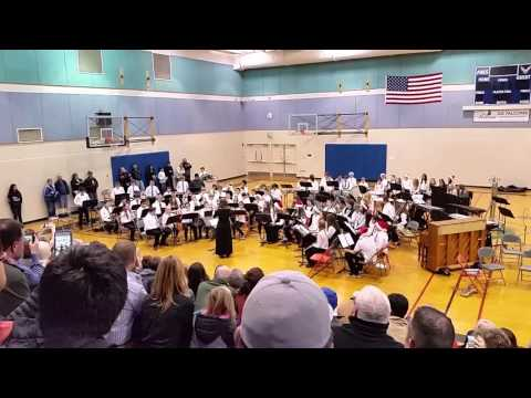 A Christmas Sleigh Ride - Foothills Middle School - Beginning Band 2015