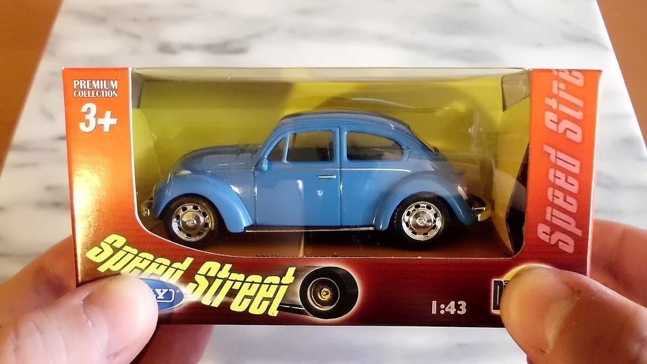 Welly DieCast Metal Cars Collection 2014 VW Beetle  YouTube
