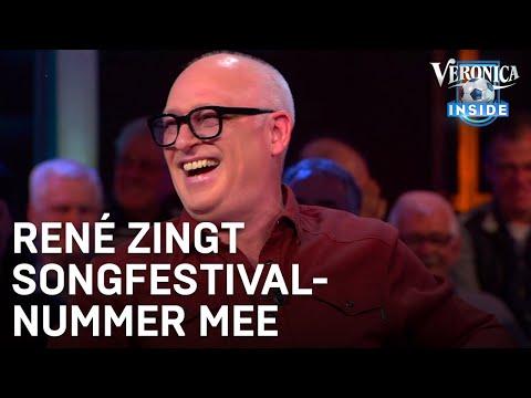 René zingt mee met Songfestivalnummer Duncan Laurence | VERONICA INSIDE