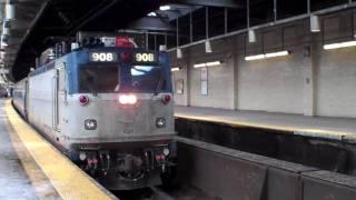 Amtrak & NJ Transit in Newark Penn Station 2010